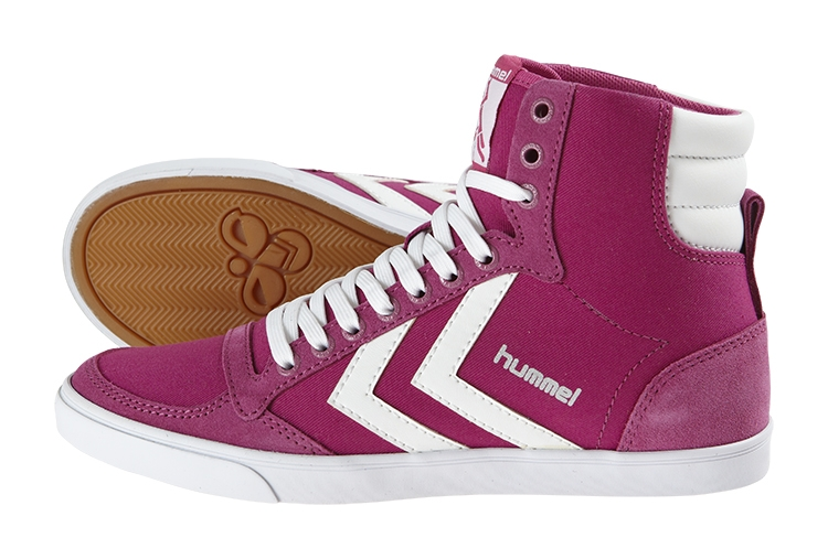 HUMMEL SNEAKER STADIL HIGH CANVAS