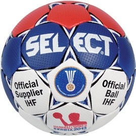 Die Replica-Version des Select WM-Handballs der Frauen Handball WM 2013 in Serbien