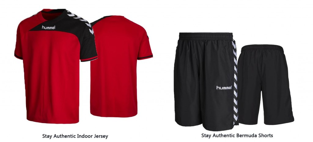Stay Authentic Indoor Jersey & Bermuda Shorts