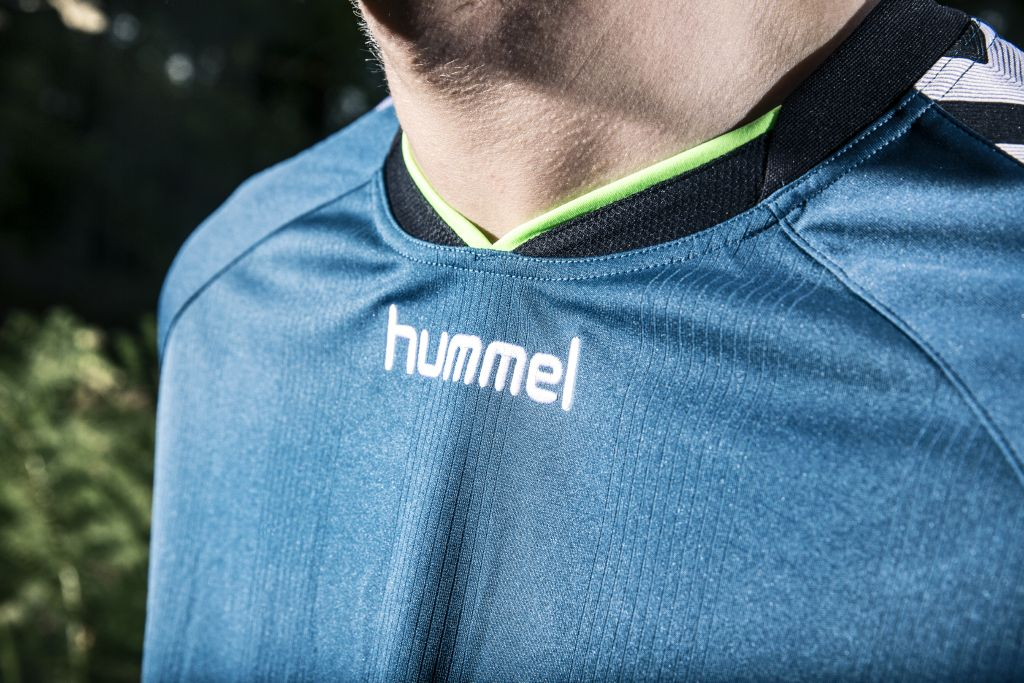 Hummel Stay Authentic Blue Legion/Green Gecko